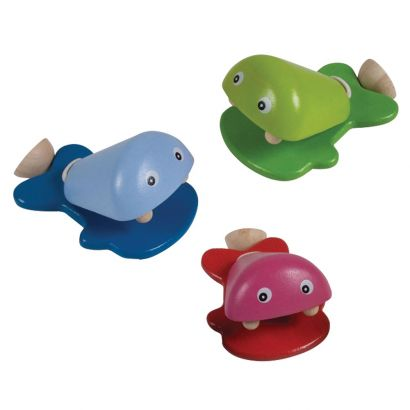 Деревянная игрушка Рыбки-кастаньеты, PlanToys 1шт
