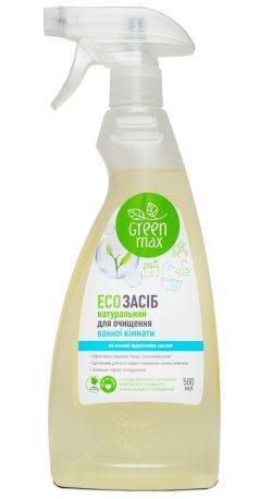 Эко средство для очистки ванной комнаты с распылителем натуральное 500 мл