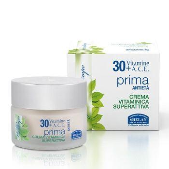 Крем антивозрастной 30 + / Elisir Antitempo Prima Anti-age Super Active Vitamin Cream 50 мл