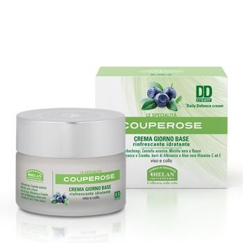 Крем дневной освежающий и увлажняющий для лица и шеи Couperose Base Day Cream DDcream 50 мл