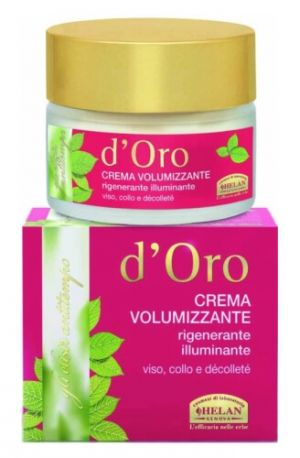 Крем для лица и шеи восстанавливающий Elisir Antitempo D'oro Volumizing Cream 50 мл