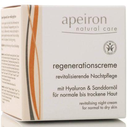 Крем для лица Apeiron восстанавливающий 50 мл