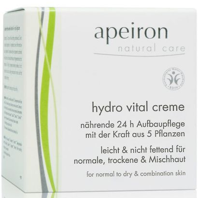 Крем для лица Apeiron увлажняющий (24 часа) 50 мл