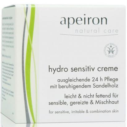 Крем для лица Apeiron увлажняющий для чутливої шкіри (сбалансированный уход 24 часа) 50 мл