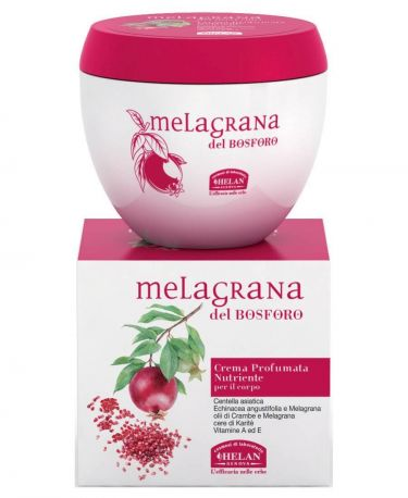 Крем для тела Melagrana Del Bosforo Nourishing Scented Cream 200 мл