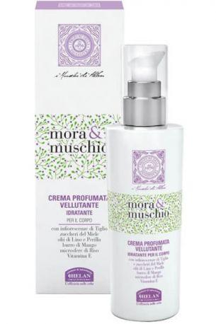 Крем для тела Mora E Muschio Velvety Scented Cream 200 мл - Фото 2