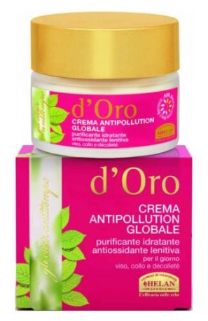Крем успокаивающий увлажняющий для лица и шеи Elisir Antitempo D'oro 50 мл