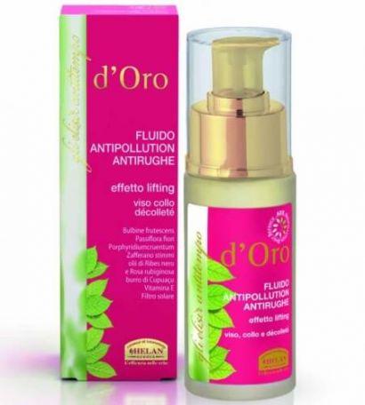 Лосьон против морщин для лица и шеи Elisir Antitempo D'oro Antiwrinkle AntiPollution Lotion 30 мл
