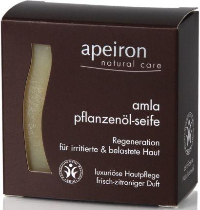 Мыло Apeiron для раздраженной и поврежденной кожи с маслом Амла 100 г
