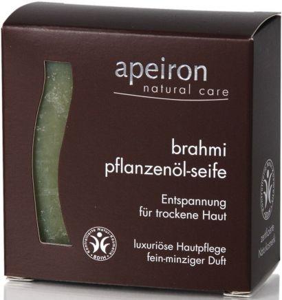 Мыло Apeiron для сухой кожи с маслом Брахми 100 г