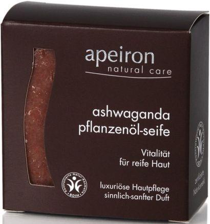 Мыло для зрелой кожи Apeiron с маслом Ашвагандхи 100 г