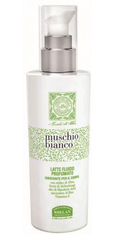 Молочко для тела ароматизированное Muschio Bianco Scented Fluid Milk 200 мл