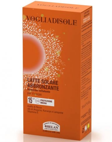 Молочко для загара SPF15 Vogliadisole 200 мл