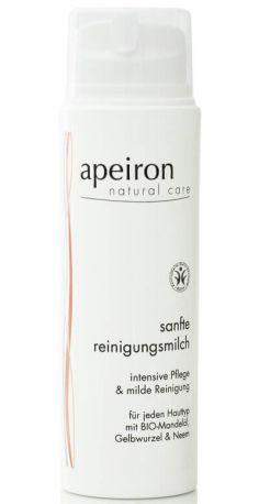 Молочко Apeiron для снятия макияжа деликатное 150 мл