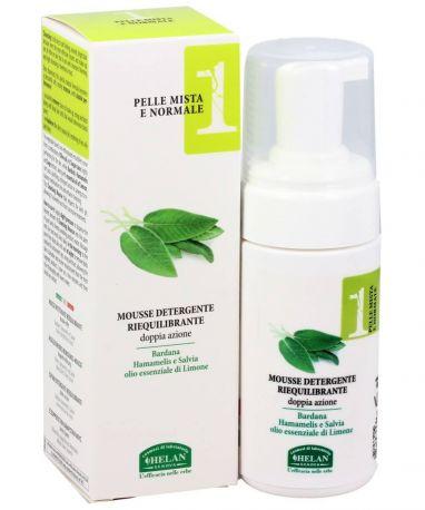 Мусс для очищения лица Linea Viso 1 Rebalancing Cleansing Mousse 100 мл