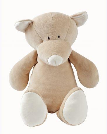 Мягкая игрушка Wooly Organic — Медвежонок Тедди, большой, 29 см - Фото 1