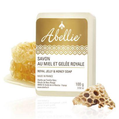 Мыло для лица и тела Abellie Мёд и маточное молочко 100 г