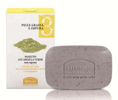 Мыло с зеленой глины Linea Viso 3 Green Clay Bar 100 г