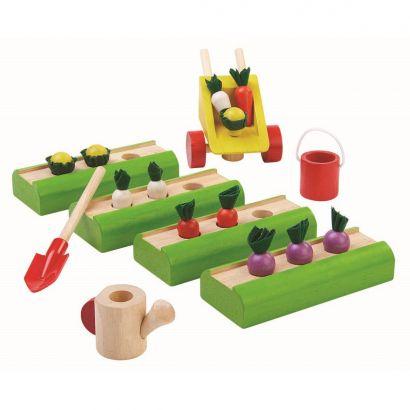 Набор деревянных игрушек «Огород» PlanToys