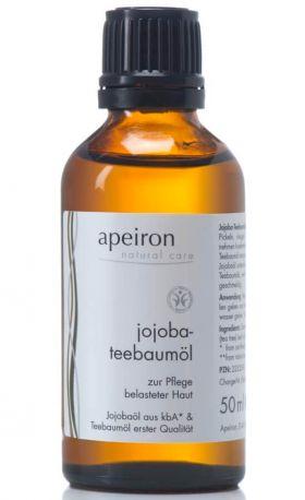 Масло Apeiron чайного дерева и жожоба 50 мл