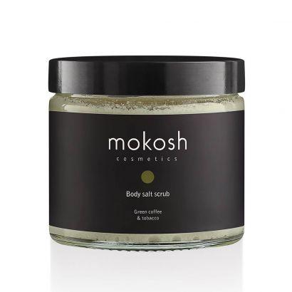 Скраб для тела Mokosh солевой Кофе и табак  300 г