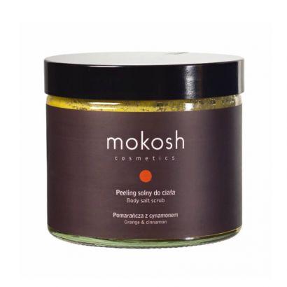Скраб для тела Mokosh солевой Апельсин и корица 300 г