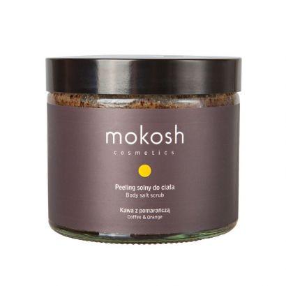 Скраб для тела солевой Mokosh Кофе и апельсин 300 г