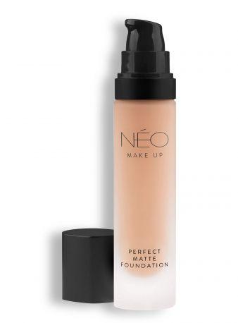 Тональная основа для лица Neo Make up матирующая 4 30 мл