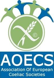 Логотип Ассоциации европейских обществ целиакии (AEOCS)